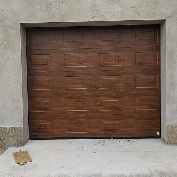 Секционные ворота Alutech PRESTIGE 3000х3000 2