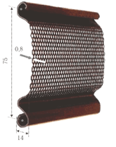 Профиль СТ75П 1