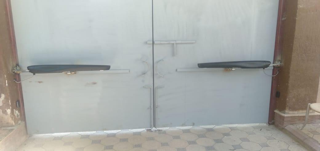 Секционные ворота Alutech 1